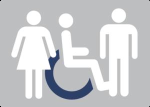 Pictogramme handicap visible et invisible